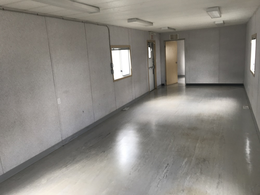 Used 12'x60' skid modular office for sale in Edmonton, Ab
