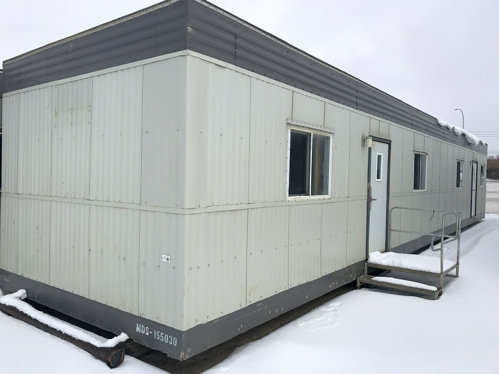 used mobile office trailer for sale in Edmonton Ab MDS-155030-1