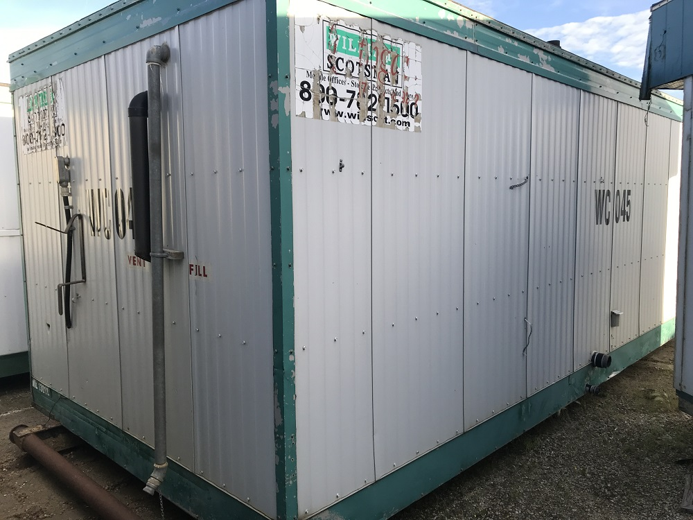 Used 12'x24' Skidded Toilet Trailer for sale in Edmonton, AB - 2