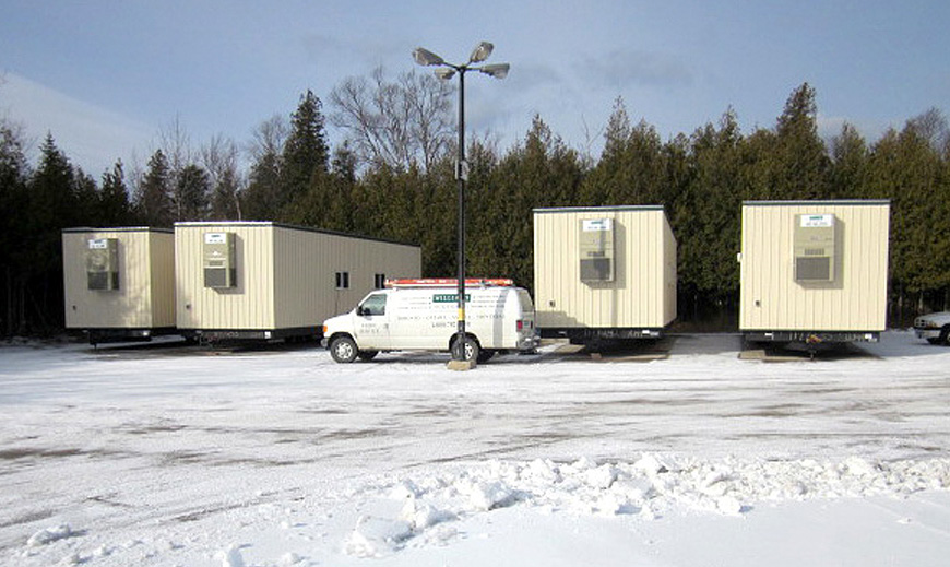 Bruce Power Mobile Trailers